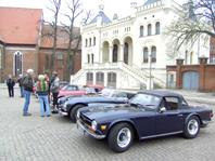 Marktplatz in Wittenburg - Begrüßung